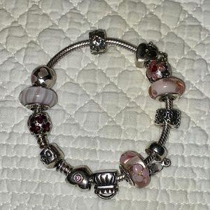 Pandora Bracelet with 11 charms